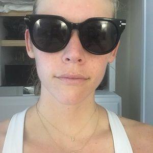 Celine Accessories - Celine black sunglasses 41084